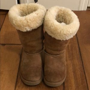 Uggs Long Chestnut Boots